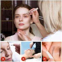 Gesichtshaare Rasieren Frau Damenrasierer Augenbrauentrimmer Remover