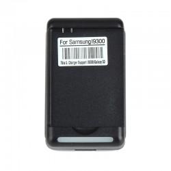 Ladegerät Ladestation Netzteil Plug Changer f. Samsung i9300 Schwarz