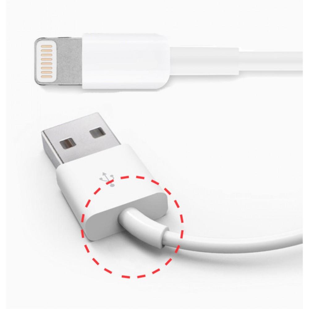 2m lightning kabel ladekabel iphone kabel usb datenkabel. Black Bedroom Furniture Sets. Home Design Ideas