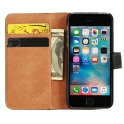 PU Leder Tasche für iPhone SE / 5S / 5 Handyhülle Hülle Schutzhülle