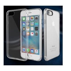 Panzerglas und Transparent TPU Hülle Case für iPhone 6 Plus/6s Plus