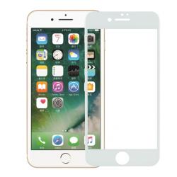 Display-Schutzfolie Panzerglas Frontlinsenglas Case für iPhone 7 weiß