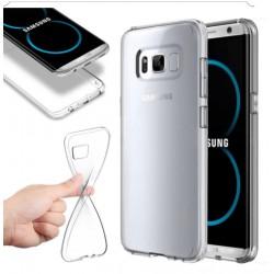 Hülle Rückseite der Schutzhülle TPU-Gel schwarz für Samsung Galaxy S8