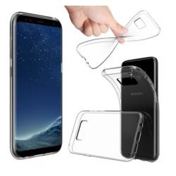 Schutzhülle Handyhülle TPU Silikon Cover Slimcase TPU f. Samsung S8+