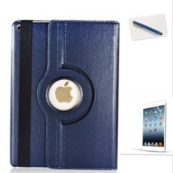 Schutzhülle für Neu iPad 2017 mit Ständer Folie und Touch Pen blau 360°