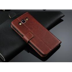 Handyhülle Premium Tasche Flip Case Schutzhülle für Samsung Galaxy J5
