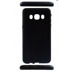 Hülle Abdeckung Case Etui Silikon Cover für Samsung Galaxy J5 schwarz
