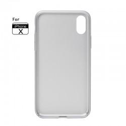 Schutzhülle Handyhülle Case Tasche Cover Für Apple X Hülle silver