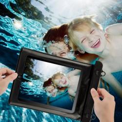 Schutztasche Schwimmen Beachbag PC Hülle Wasserdicht f. iPad schwarz