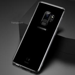 Hülle Schutzhülle Handyhülle Silikon Case f. Samsung S9 durchsichtig