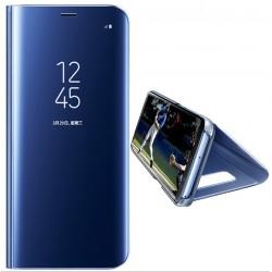 Spiegelhülle Schutzhülle Slim mit Ständer f. Samsung S9 blau