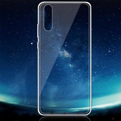 Schutzhülle Handyhülle Case Silikon TPU für Huawei P20 durchsichtig