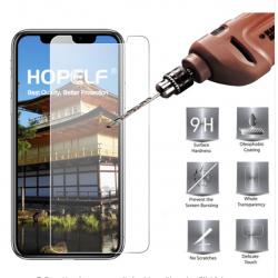 Panzerglas Schutzfolie Displayschutzfolie durchsichtig f. iPhone XR