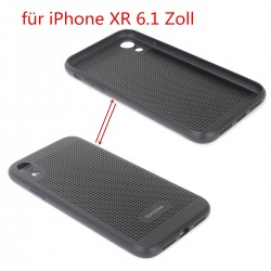 Schutzhülle iPhone XR Hülle Case Schutzhülle TPU Kratzfest schwarz