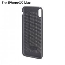 Hülle iPhoneXS Max Silikonhülle Schutzhülle Handyhülle Case schwarz