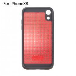 Hülle iPhone XR 6.1 Flipcase Cover Schutzhülle Handyhülle TPU rot