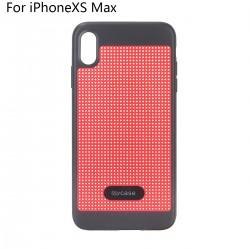 Schutzhülle iPhoneXS Max Silikonhülle Handyhülle TPU Flipcase rot