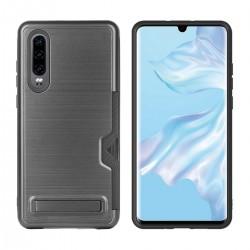 Huawei P30 Handyhülle Backcove Schutzhülle Cover Case mit Ständer