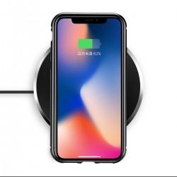 iPhone X/XS Vollbildabdeckung Gehärtetes Glas Handyhülle Case Cover