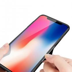 iPhone XS Max Vollbildabdeckung Gehärtetes Glas Handyhülle Schutzhülle