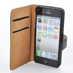 Hülle Apple iPhone 4 / 4S Cover Flip Tasche Case mit Kartenfach