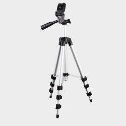 Kamerastativ mit 4-Stufige Beine und Wasserwaage aus Alu. inkl.Tragetasch