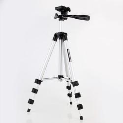 Stativ mit 3-Wege-Kopf Foto Alu-Stativ Action Kamera inkl.Tragetasche