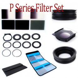 Gradual Neutral ND Filter Set ND2 4 8, 9pcs.Adapter Ring+Halter+Case