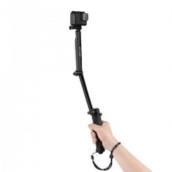 Selfie Stick Halterung mit Stativhalterung Stativ Einbeinstativ 3-in-1