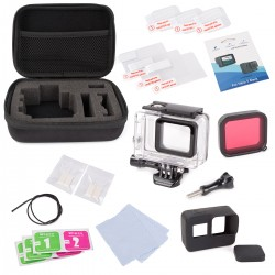 25in1 Zubehör Kit mit Case Bundle f. GoPro Hero 6 Hero 5 Action-Kamera