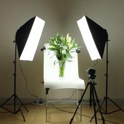 Fotostudio Fotolicht Soft-Box mit 85W Fotolampe für Studio-Porträts