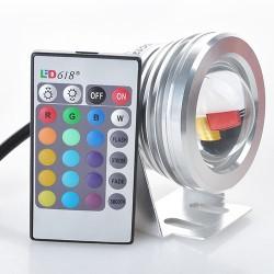 RGB LED Fluter Strahler Außenstrahler Scheinwerfer Flutlich 10W 3Modi
