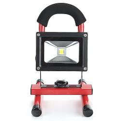 LED Akku Fluter Arbeitsleuchte Baustrahler Handlampe Campinglampe