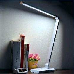 Lampe Schreibtischlampe LED Schreibtischleuchte klappbar 10W schwarz
