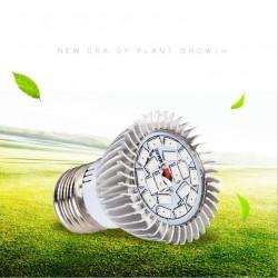 LED Pflanzenlampe für Zimmerpflanzen Blumen und Gemüse Strahler 18W