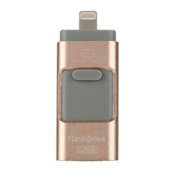 Speicherstick USB Stick Flash Drive 64GB Rose Gold für iPhone Android