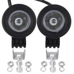 LED Arbeitsscheinwerfer Zusatzscheinwerfer Auto Scheinwerfer 10W 2pcs