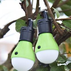 Campinglampe Zeltlampe Glühbirne Nacht Laterne Lampe 2er für Camping
