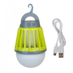 Moskitokiller Latern USB Campinglampe Zeltlampe 2in1 Anti-Moskito grün