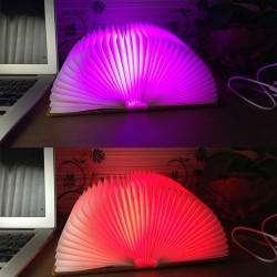 Nachttischlampe Lampe Tischleuchte LED Stimmungsleuchte mit USB Kabel