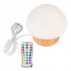 Nachttischlampe Nachtleuchte Nachtlampe LED Baby Pilz 16 Farbwechsel