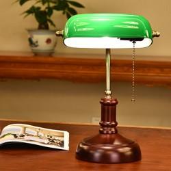 Schreibtisch Leselampe Bankerlampe Banker Bibliotheksleuchte Retro