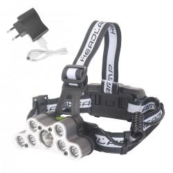Scheinwerfer Stirnlampe LED Kopflampe für Camping Wasserdicht 6 Modi