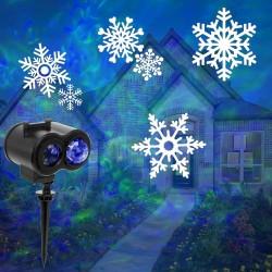 LED  Projektor Projektionslamp Beleuchtung Landschaft Lichter 2in1