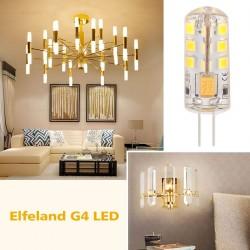 Stiftsockellampe Glühbirne Leuchtmittel LED Lampen warmweiss 2W 10er