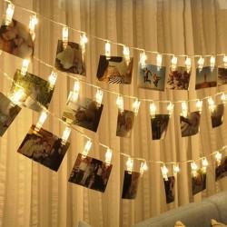 Foto Lichterketten mit Fernbedienung 8 Modi Batteriebetrieben