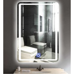 Badspiegel Lichtspiegel LED Spiegel Wandspiegel mit Touch-Schalter