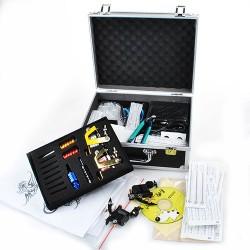 Profi Tätowierung komplett Tatto Kit Set 4 Tattoomaschine mit Zubehör