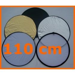 Faltreflektor Diffusor Warmton-Reflektor 5in1 110 cm Set mit Tasche