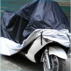 Motorradabdeckung Motorrad Abdeckplane Motorradgarage 245x105x125cm